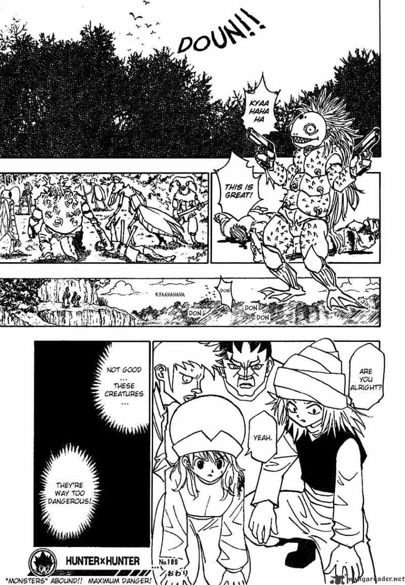 Hunter X Hunter Chapter 189  Online Free Manga Read Image 15