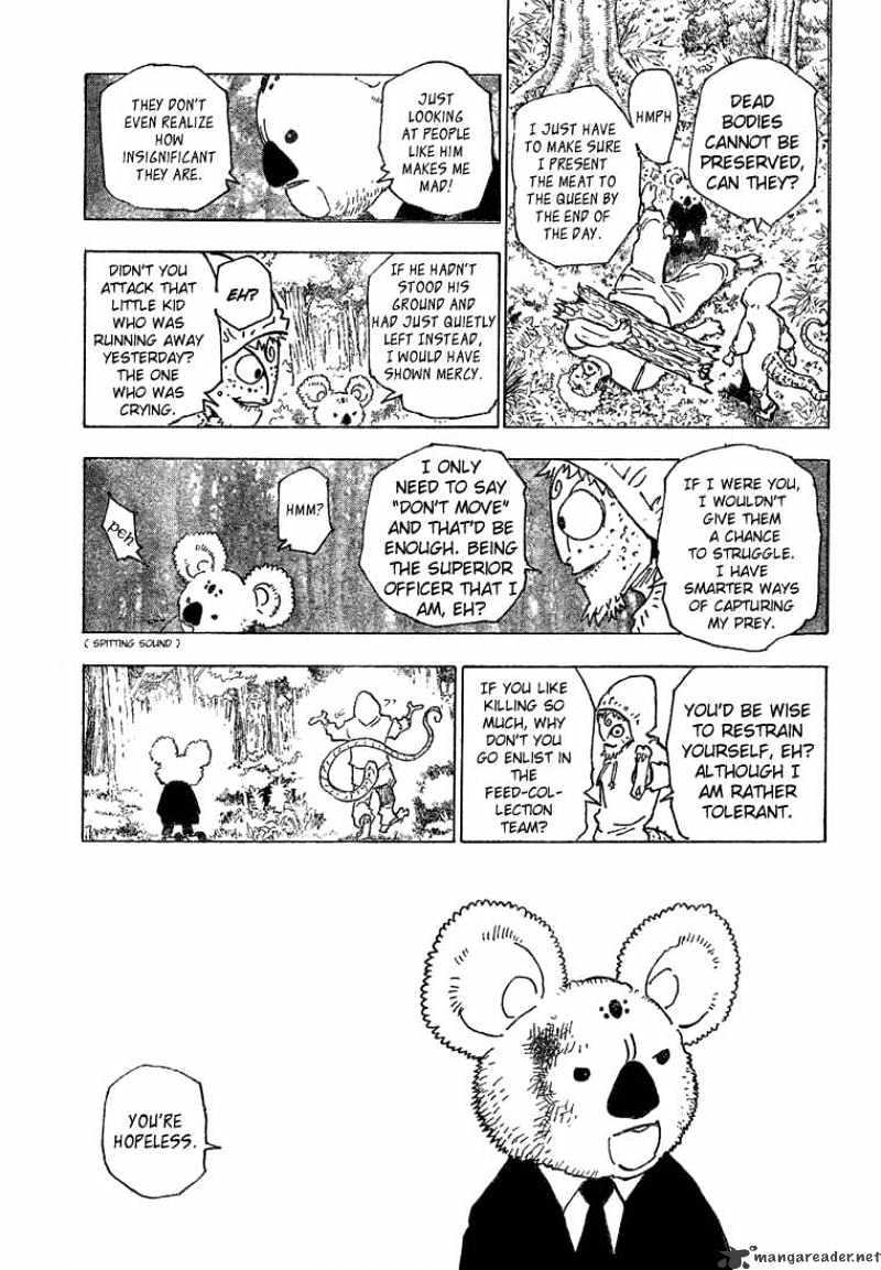 Hunter X Hunter Chapter 189  Online Free Manga Read Image 9