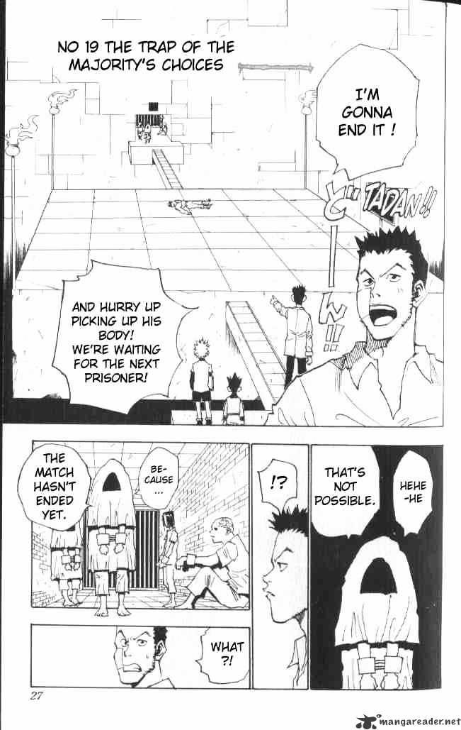 Hunter X Hunter Chapter 19  Online Free Manga Read Image 2
