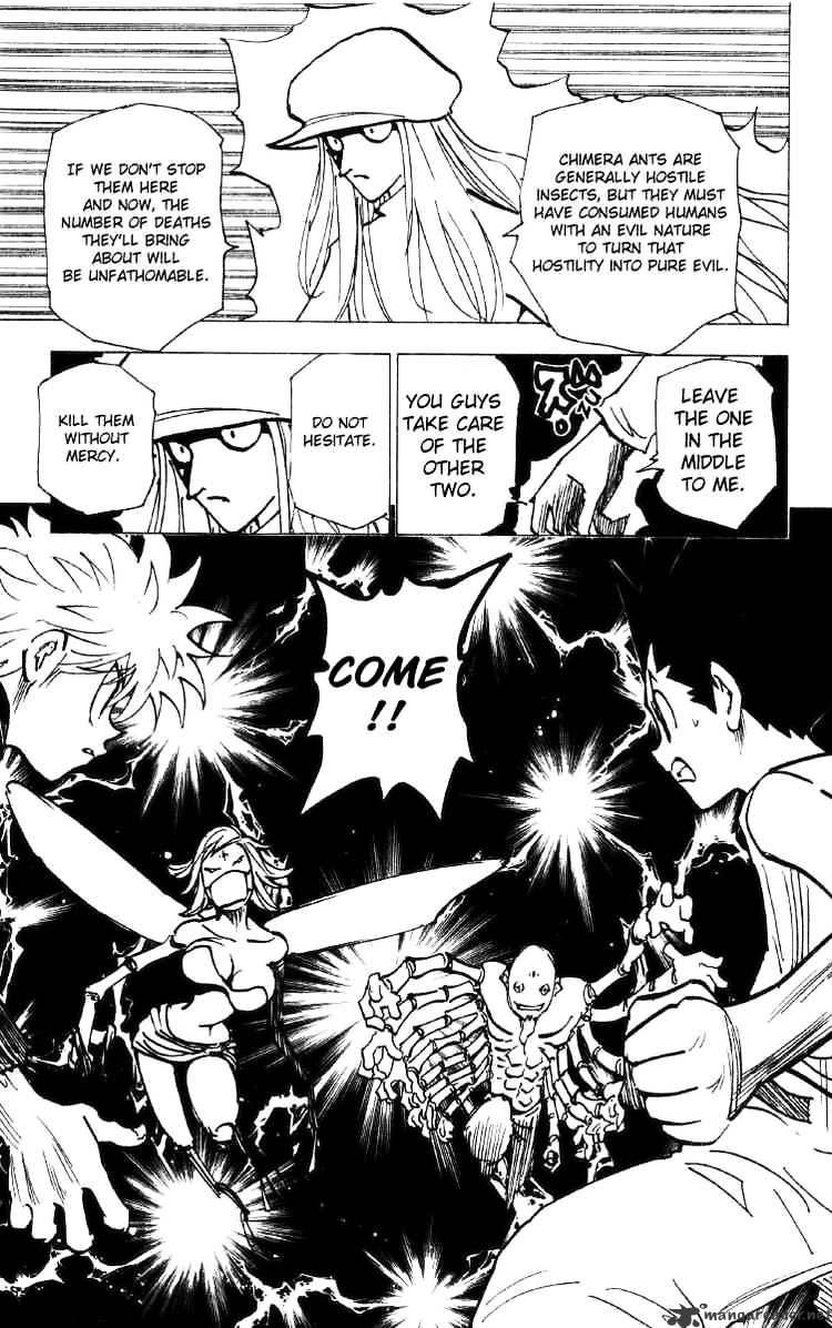 Hunter X Hunter Chapter 192  Online Free Manga Read Image 15
