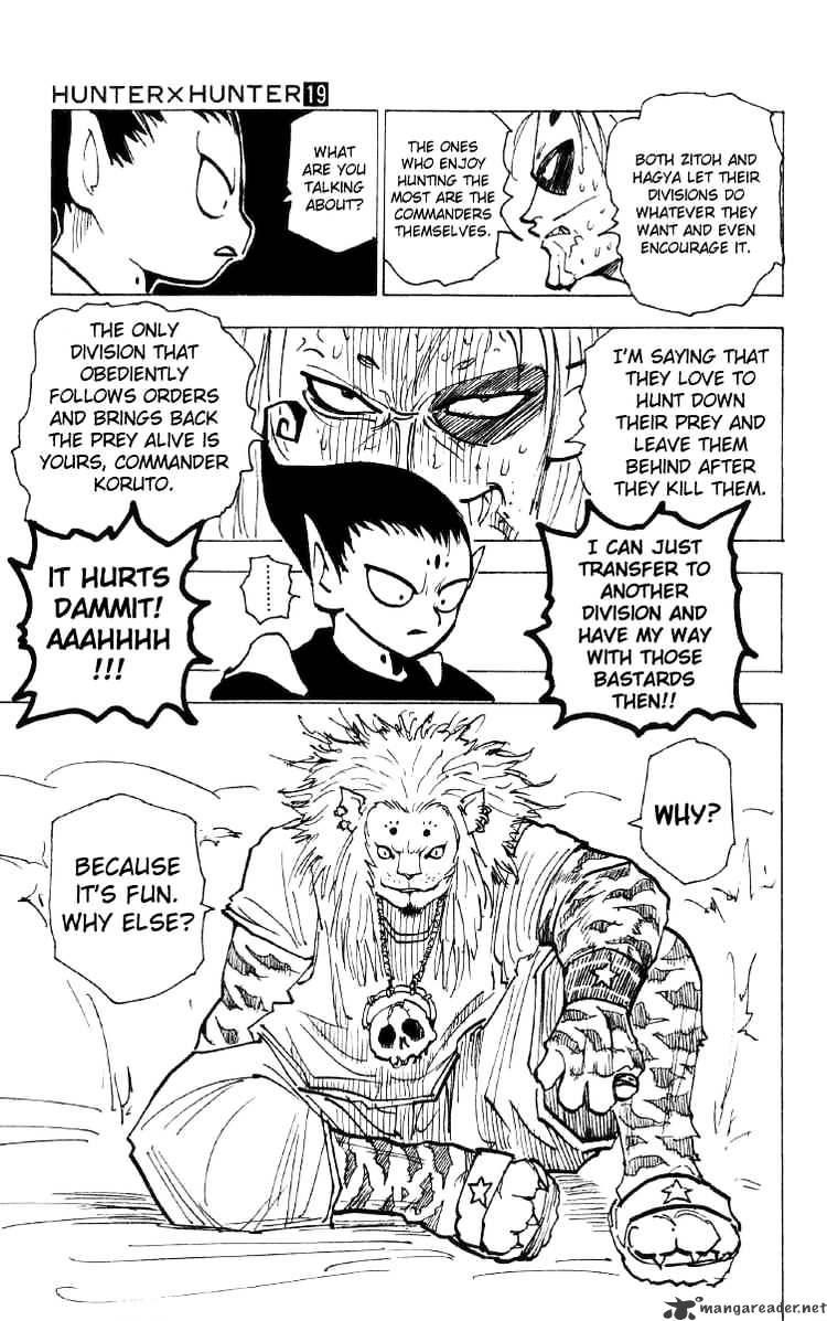 Hunter X Hunter Chapter 192  Online Free Manga Read Image 3