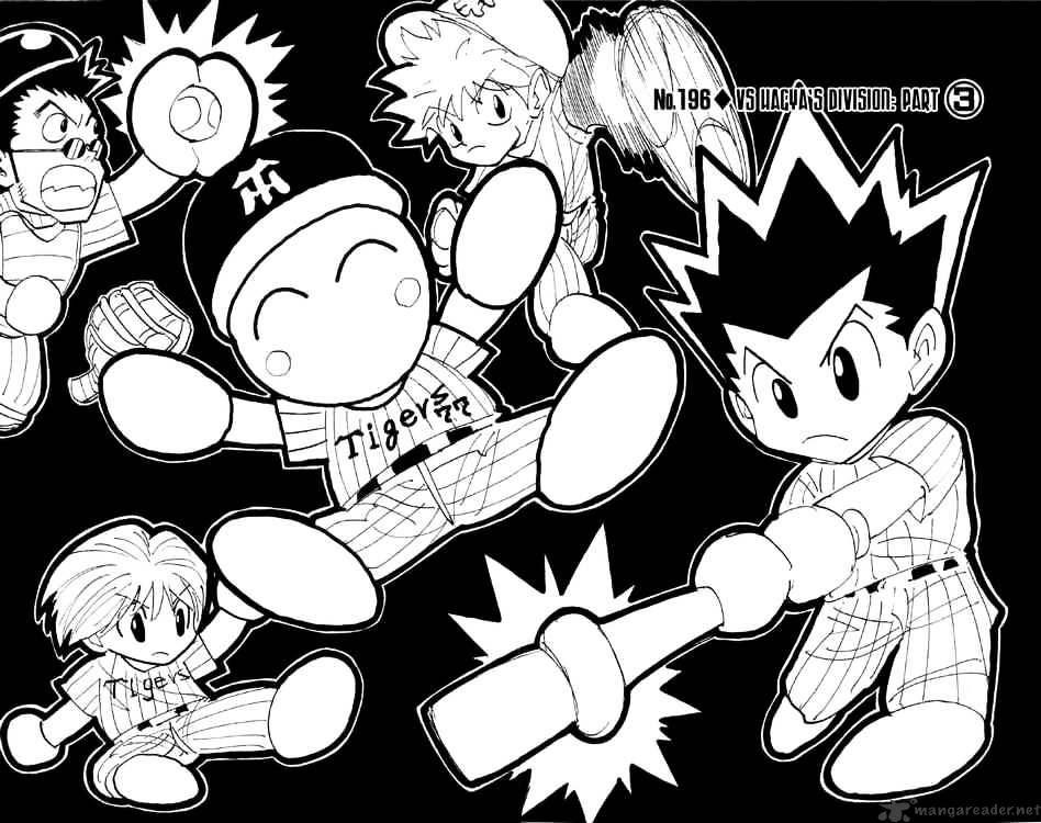 Hunter X Hunter Chapter 196  Online Free Manga Read Image 4