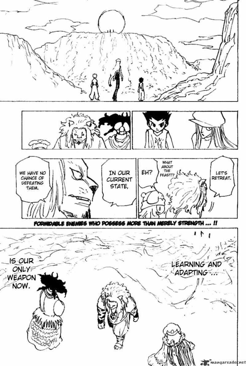Hunter X Hunter Chapter 197  Online Free Manga Read Image 15