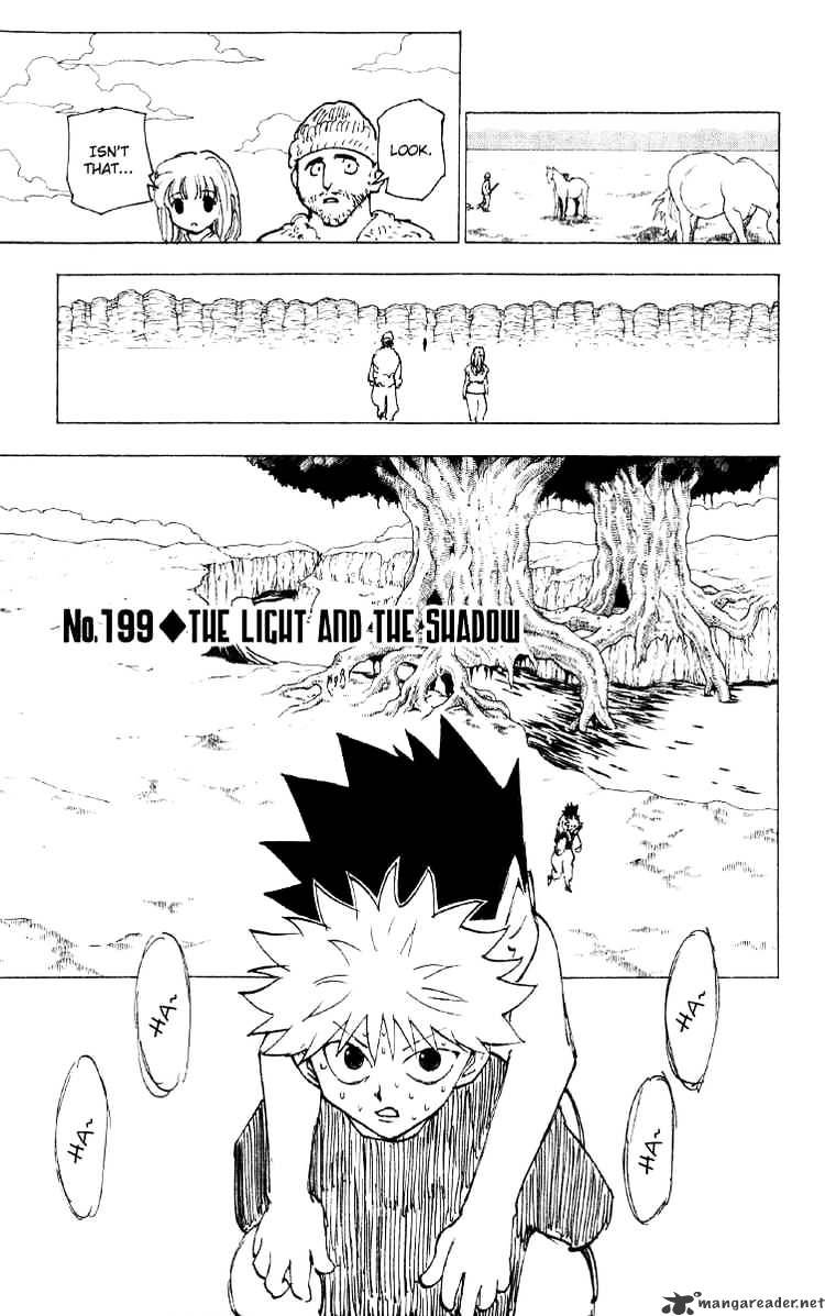 Hunter X Hunter Chapter 199  Online Free Manga Read Image 1