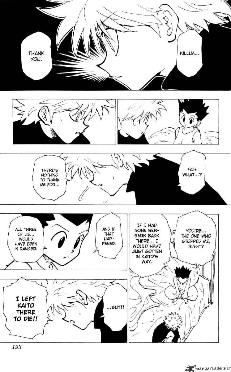 Hunter X Hunter Chapter 199  Online Free Manga Read Image 11