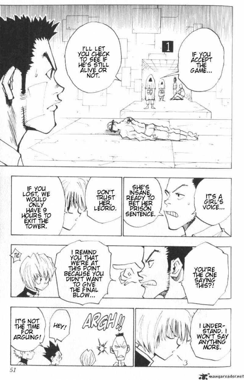 Hunter X Hunter Chapter 20  Online Free Manga Read Image 6
