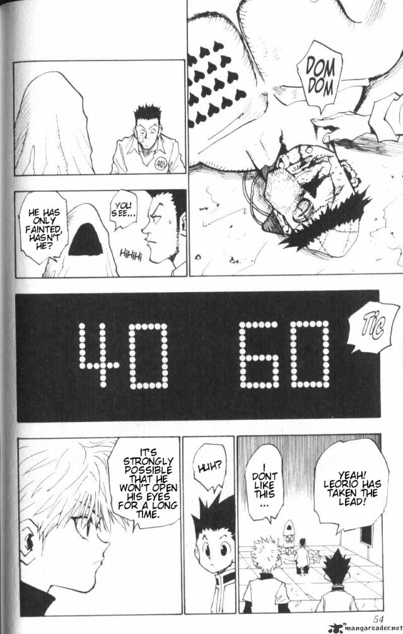 Hunter X Hunter Chapter 20  Online Free Manga Read Image 9