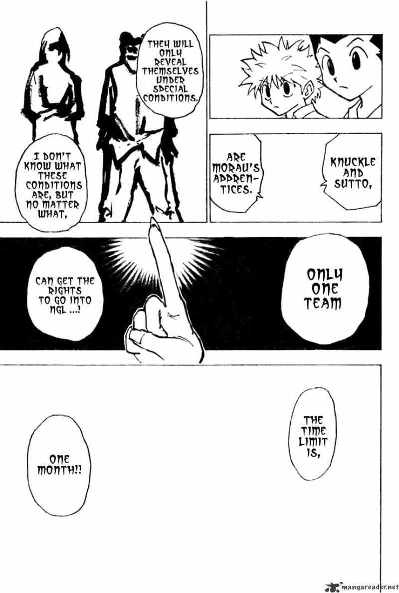 Hunter X Hunter Chapter 200  Online Free Manga Read Image 9