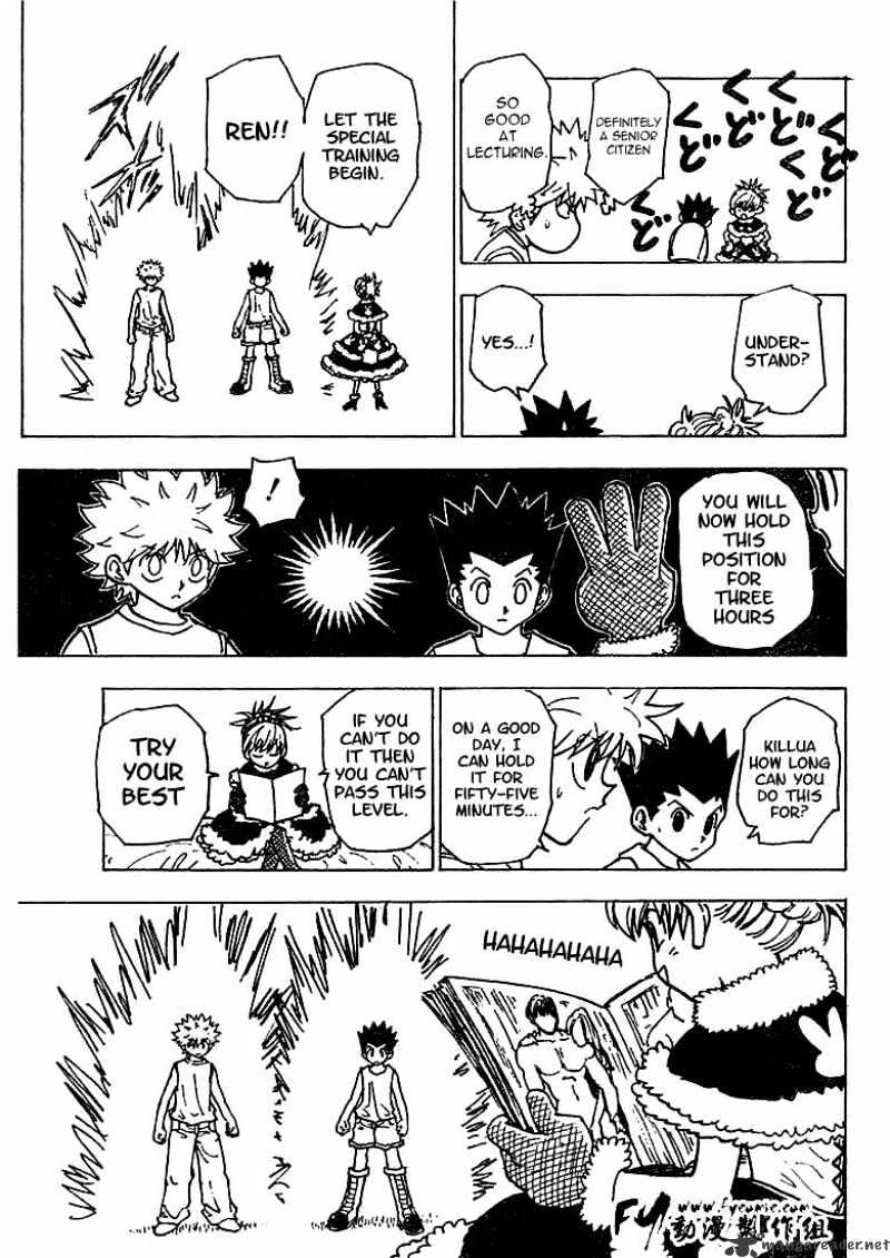 Hunter X Hunter Chapter 201  Online Free Manga Read Image 10