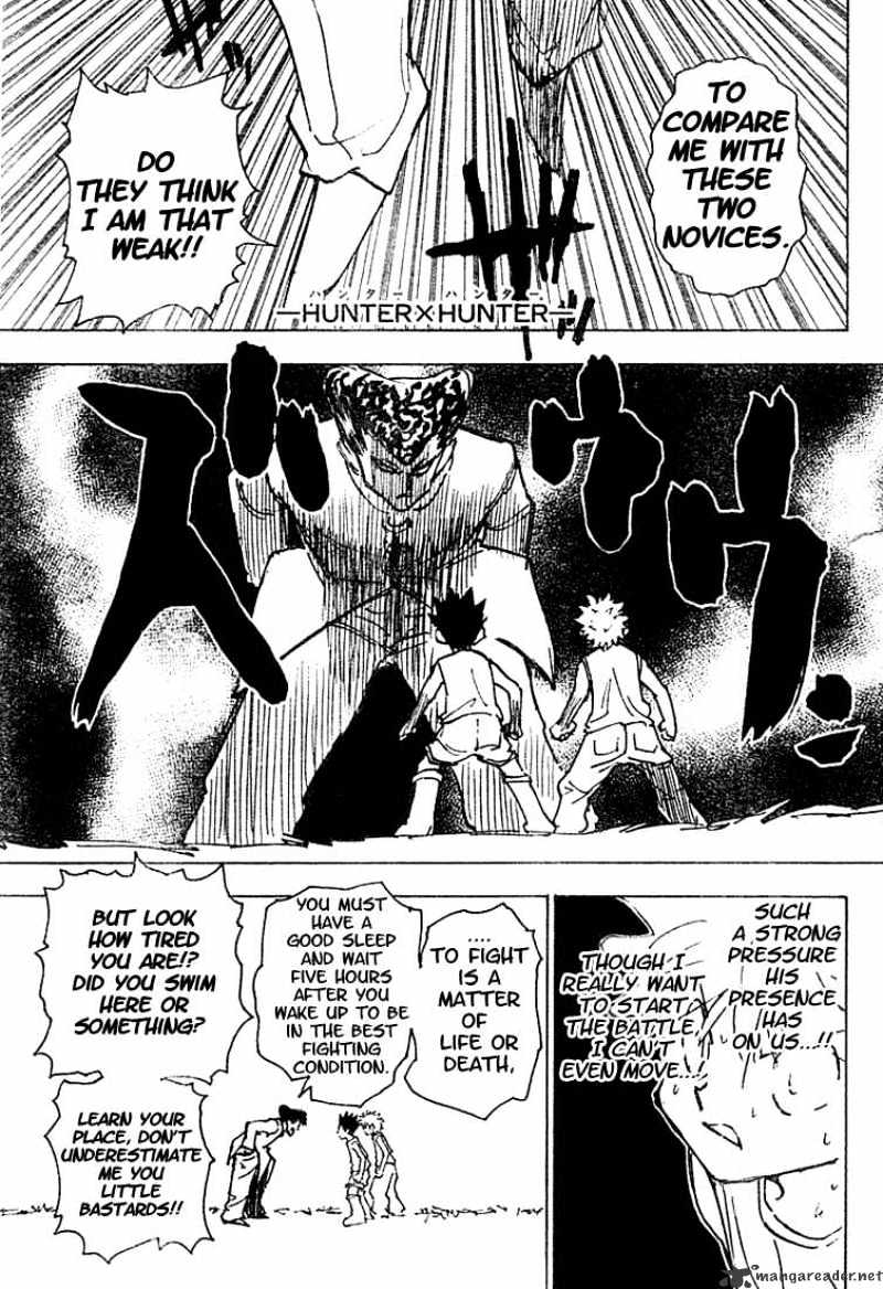 Hunter X Hunter Chapter 203  Online Free Manga Read Image 2