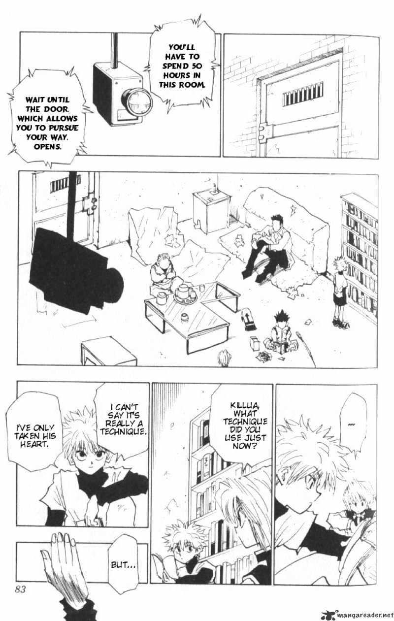 Hunter X Hunter Chapter 21  Online Free Manga Read Image 18