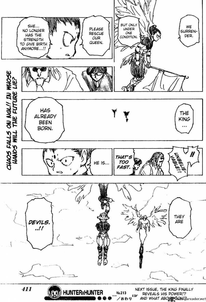 Hunter X Hunter Chapter 213  Online Free Manga Read Image 16