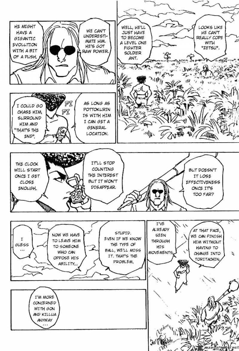 Hunter X Hunter Chapter 221  Online Free Manga Read Image 14