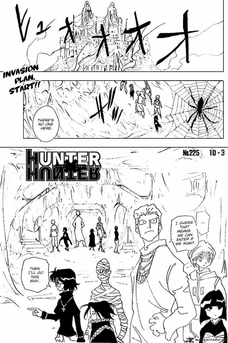 Hunter X Hunter Chapter 225  Online Free Manga Read Image 1