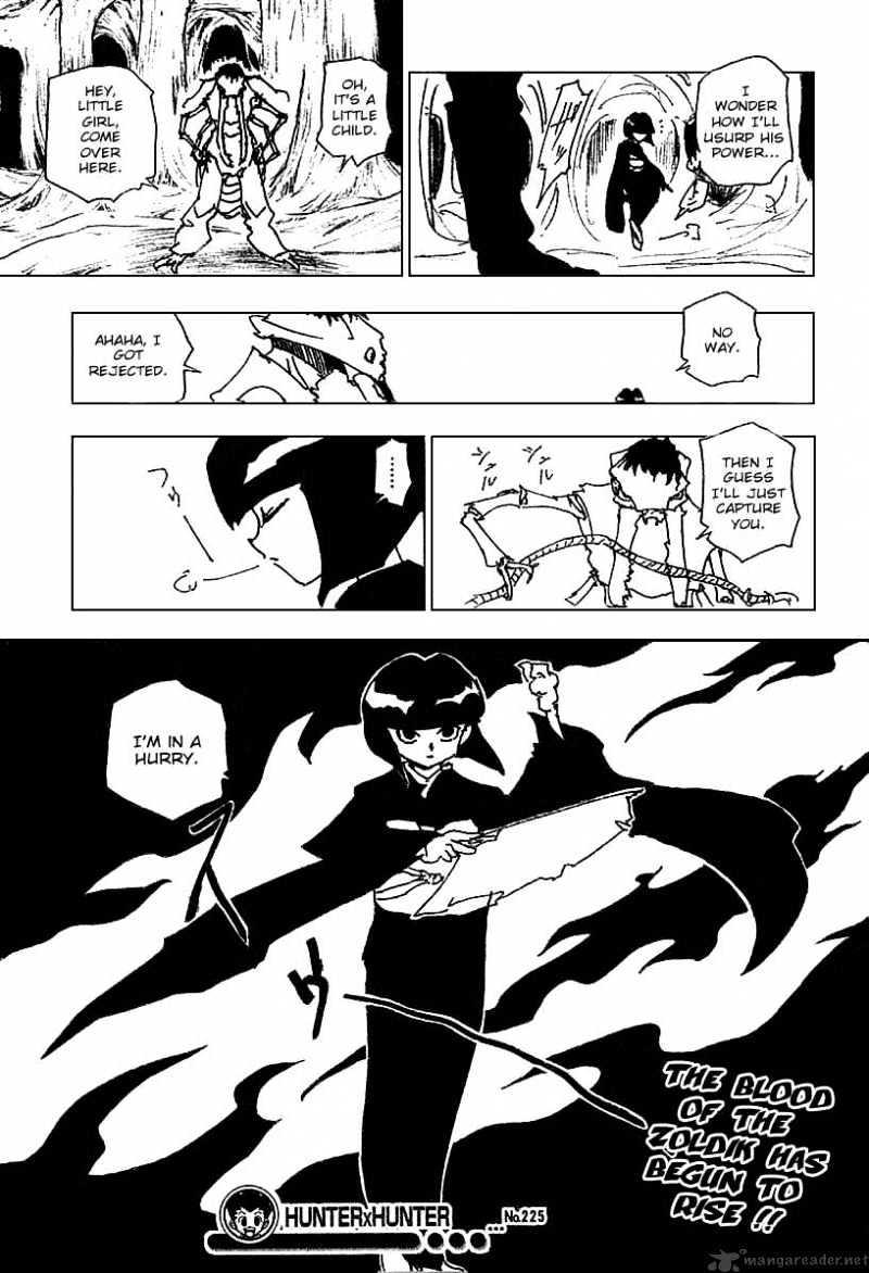 Hunter X Hunter Chapter 225  Online Free Manga Read Image 15