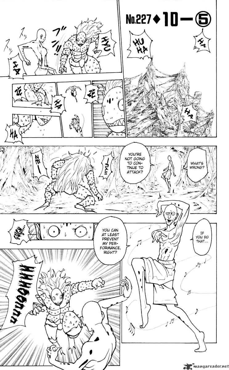 Hunter X Hunter Chapter 227  Online Free Manga Read Image 1
