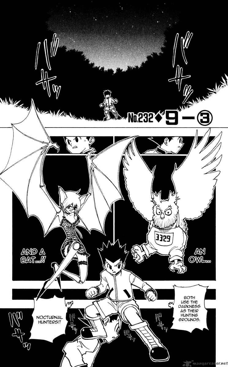 Hunter X Hunter Chapter 232  Online Free Manga Read Image 1