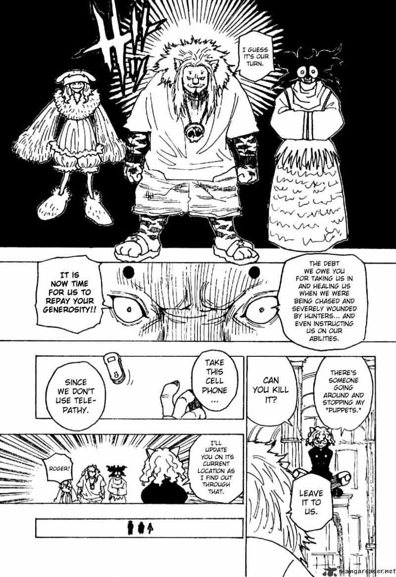 Hunter X Hunter Chapter 234  Online Free Manga Read Image 3