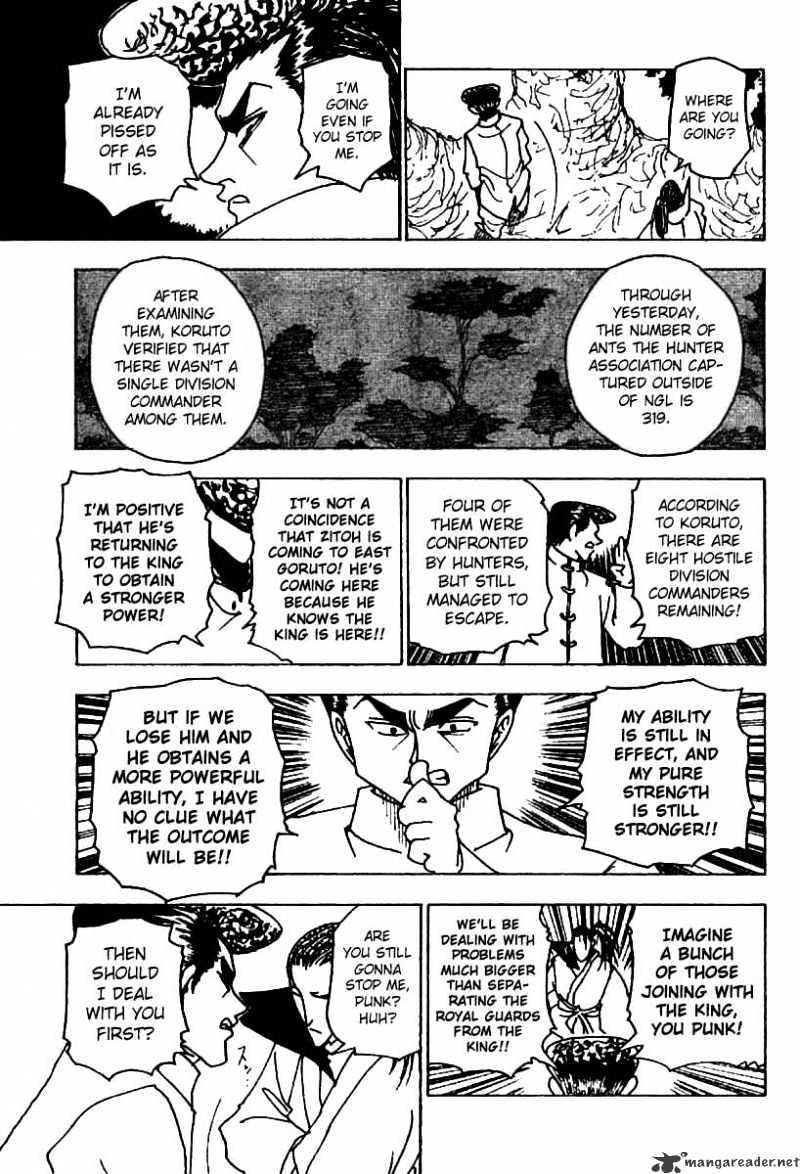Hunter X Hunter Chapter 234  Online Free Manga Read Image 7