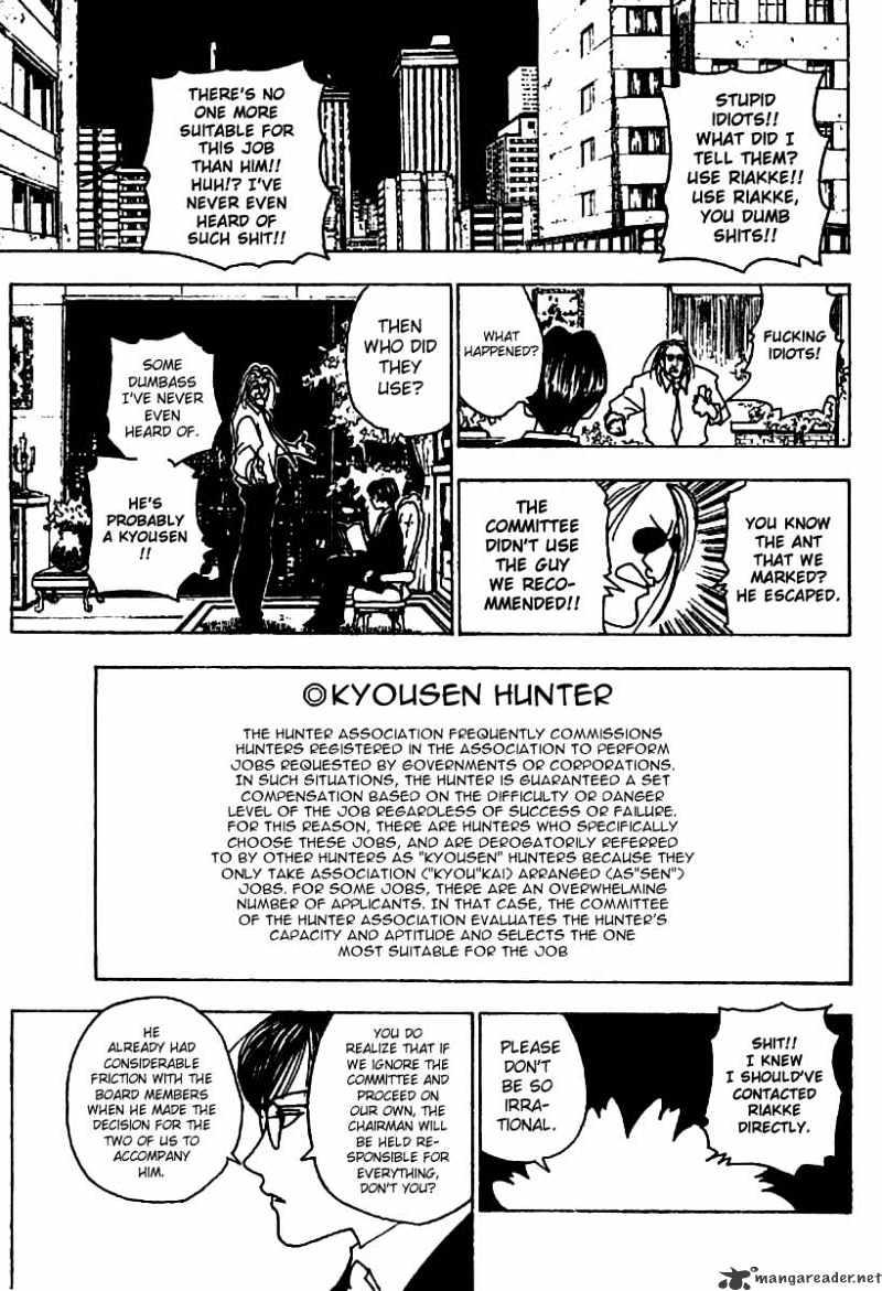 Hunter X Hunter Chapter 234  Online Free Manga Read Image 9
