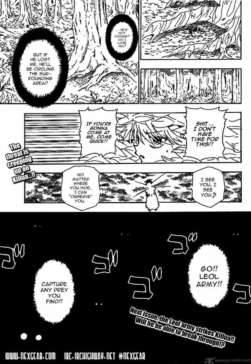 Hunter X Hunter Chapter 235  Online Free Manga Read Image 15