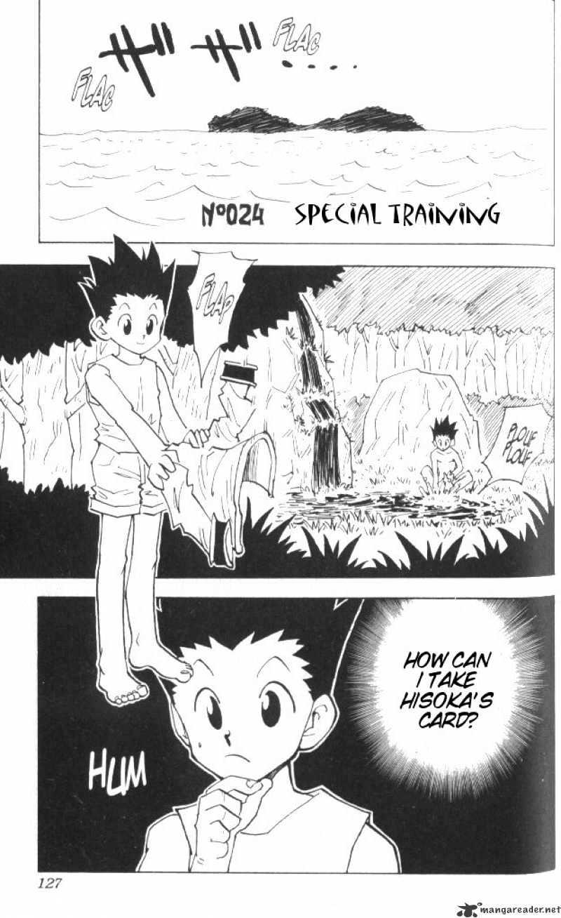 Hunter X Hunter Chapter 24  Online Free Manga Read Image 2