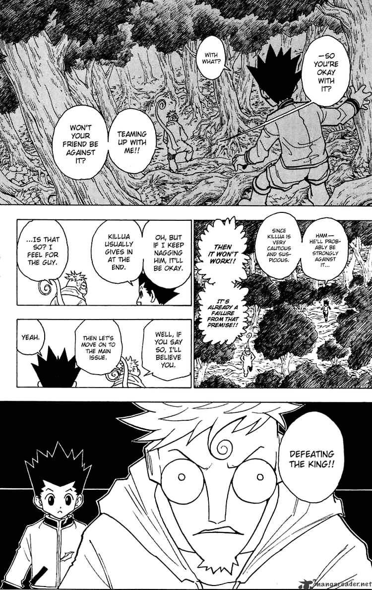 Hunter X Hunter Chapter 242  Online Free Manga Read Image 10
