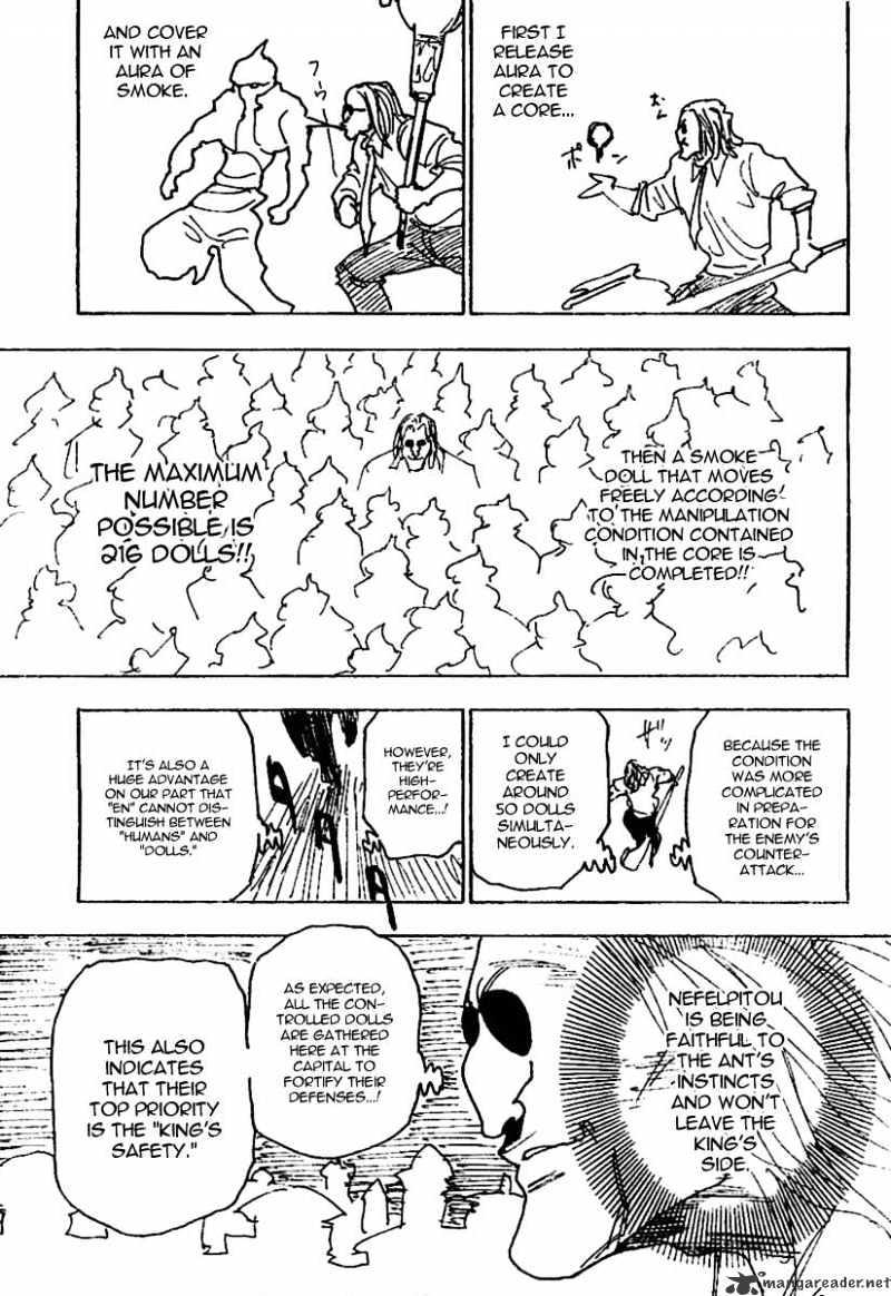 Hunter X Hunter Chapter 244  Online Free Manga Read Image 13