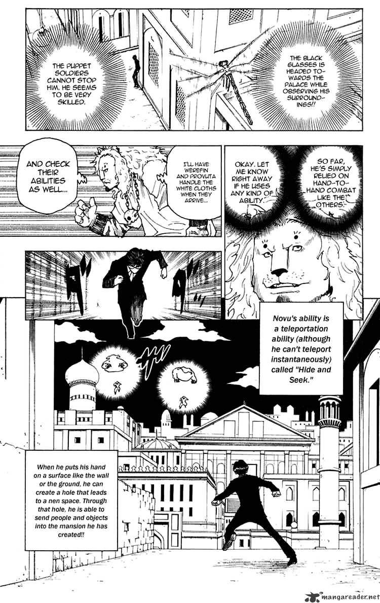 Hunter X Hunter Chapter 246  Online Free Manga Read Image 4