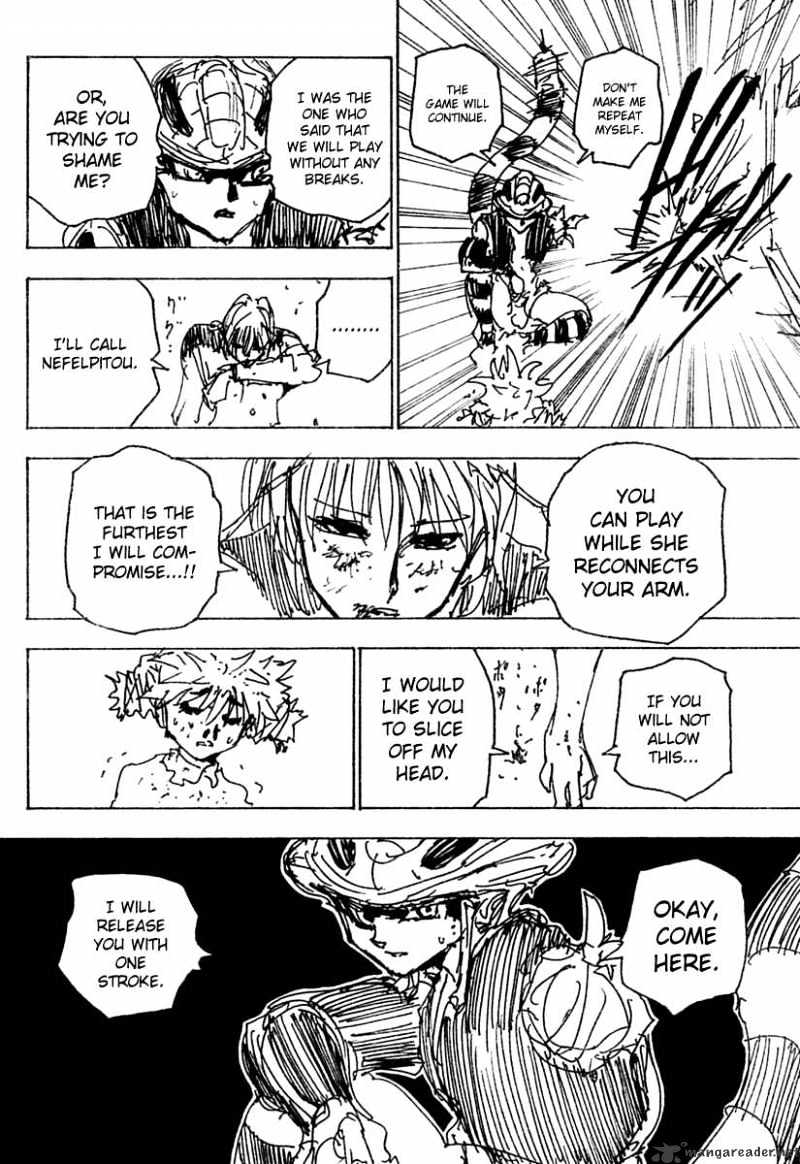 Hunter X Hunter Chapter 249  Online Free Manga Read Image 10