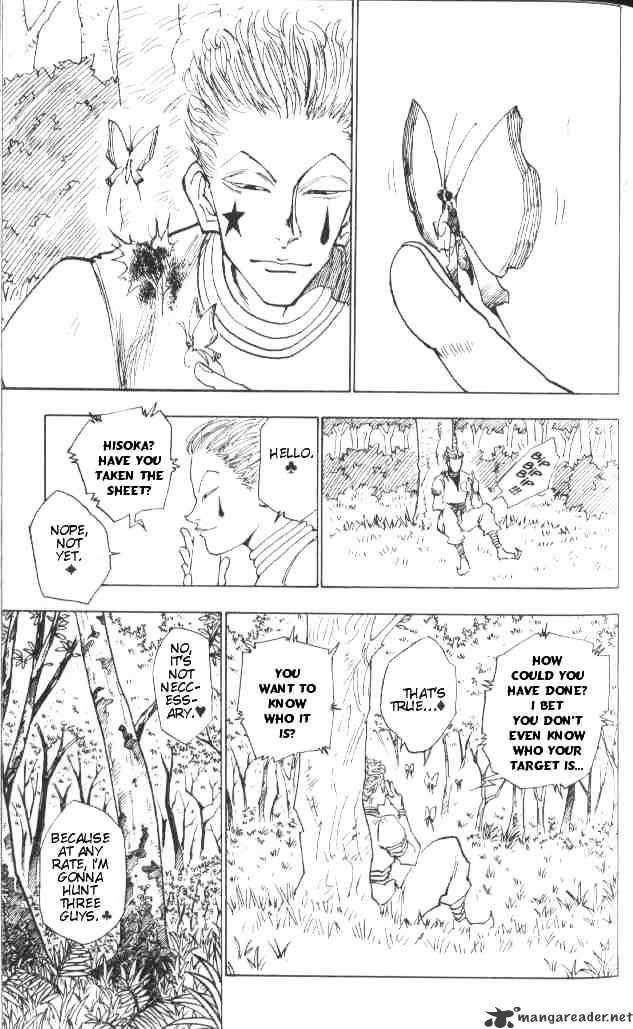 Hunter X Hunter Chapter 25  Online Free Manga Read Image 6