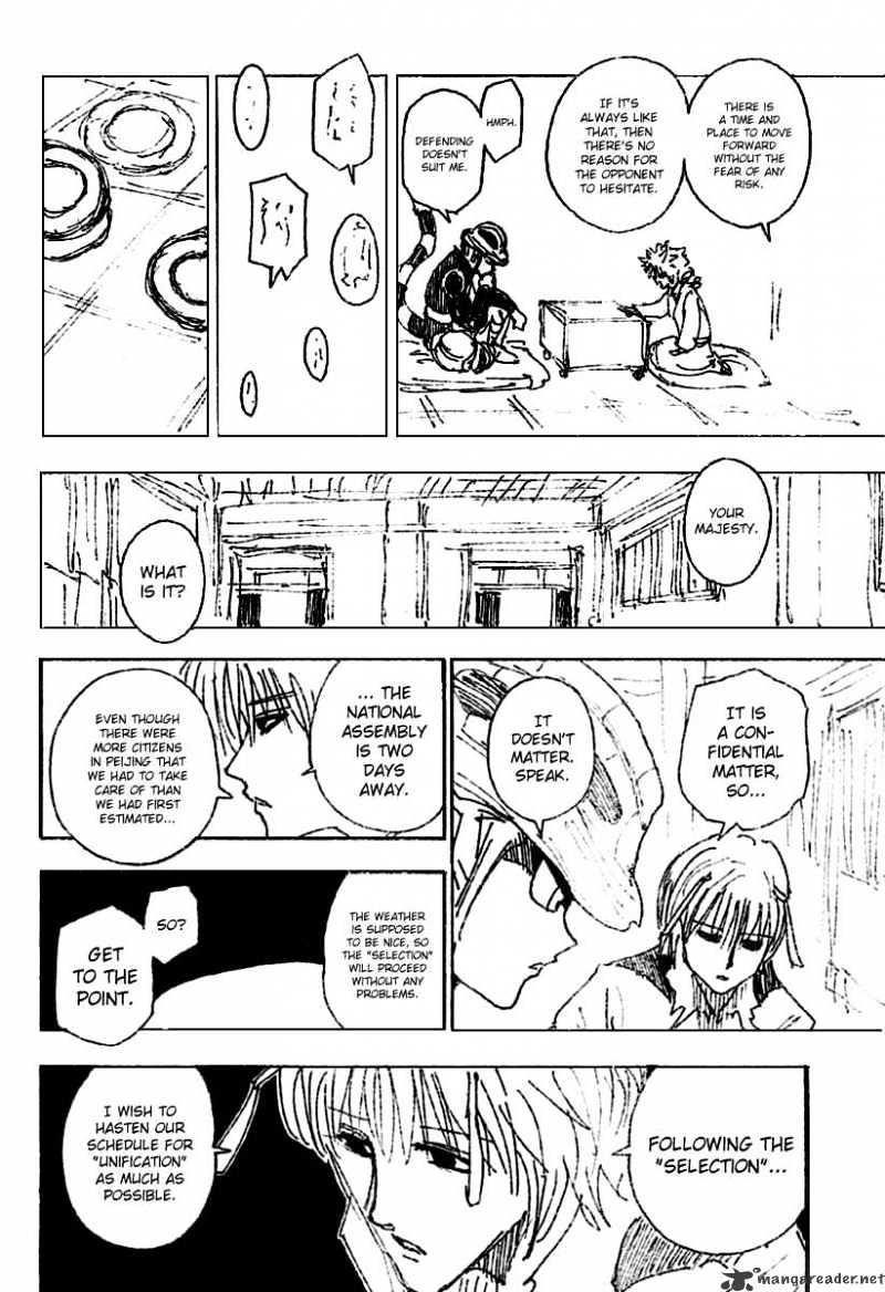 Hunter X Hunter Chapter 256  Online Free Manga Read Image 10