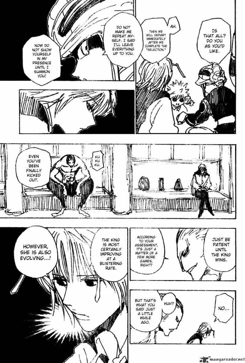 Hunter X Hunter Chapter 256  Online Free Manga Read Image 11