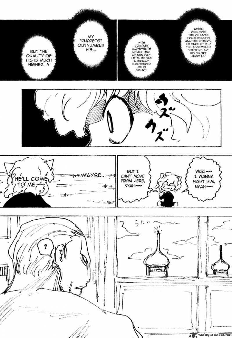 Hunter X Hunter Chapter 256  Online Free Manga Read Image 13