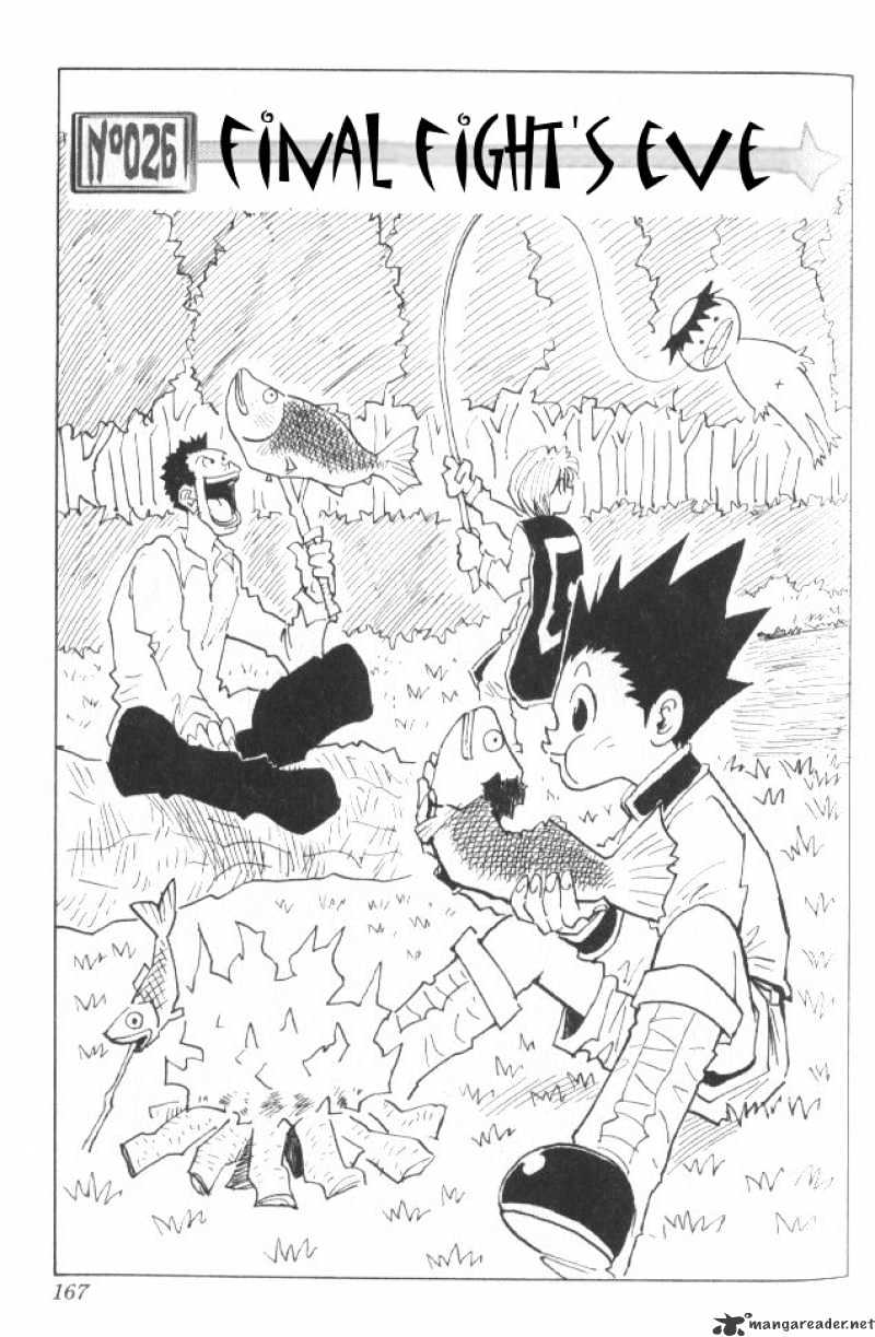 Hunter X Hunter Chapter 26  Online Free Manga Read Image 2