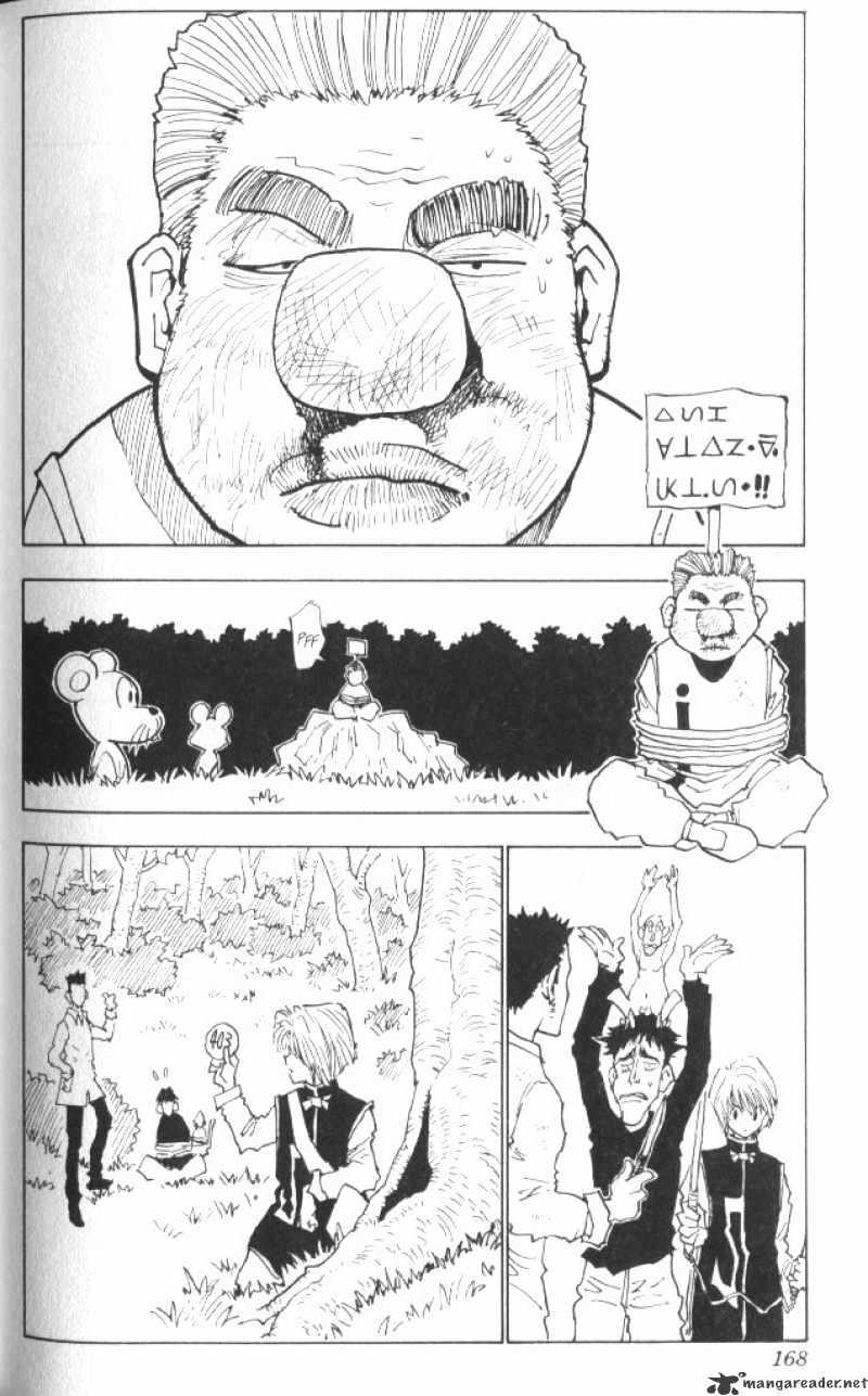 Hunter X Hunter Chapter 26  Online Free Manga Read Image 3