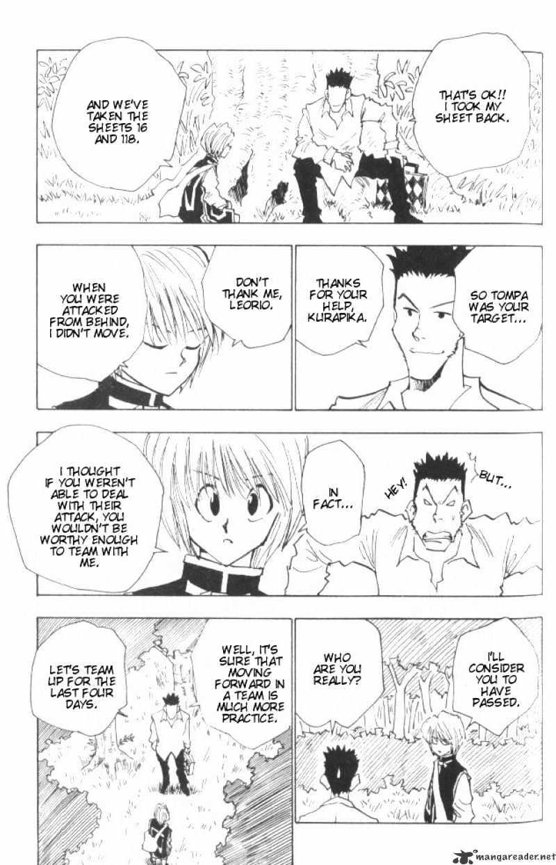 Hunter X Hunter Chapter 26  Online Free Manga Read Image 4