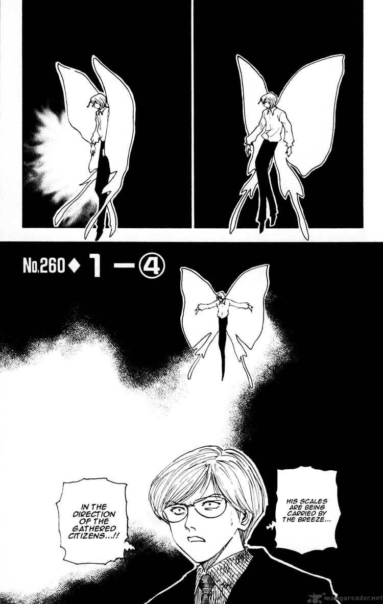 Hunter X Hunter Chapter 260  Online Free Manga Read Image 1