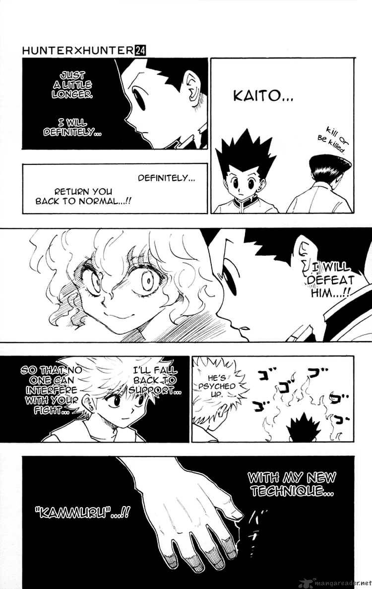 Hunter X Hunter Chapter 260  Online Free Manga Read Image 7