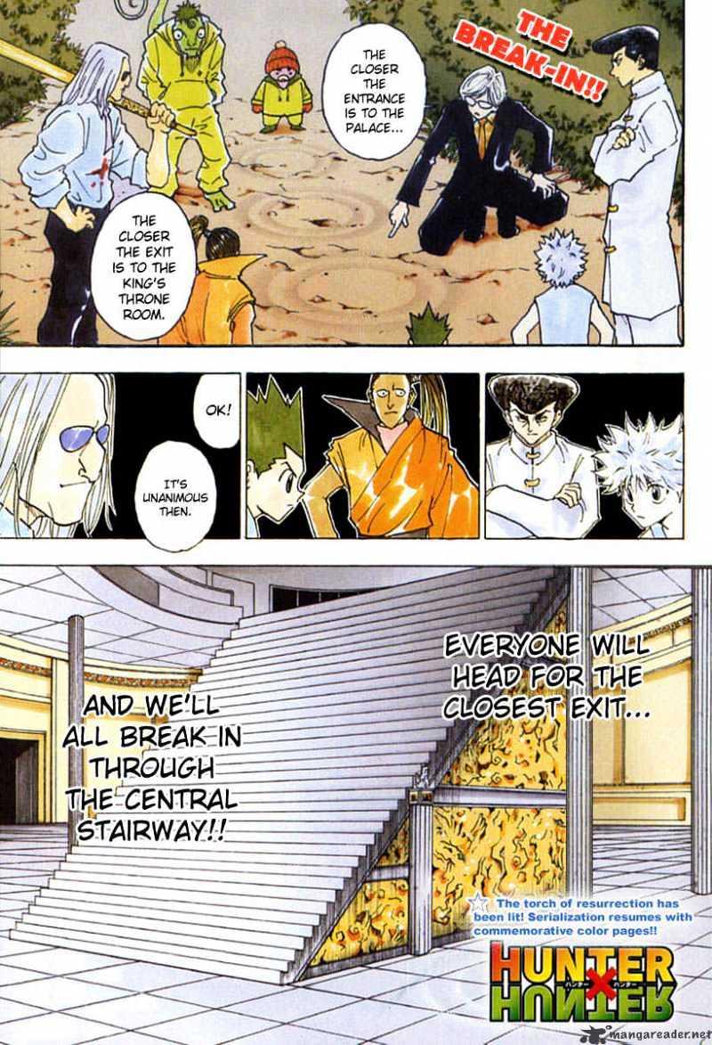 Hunter X Hunter Chapter 261  Online Free Manga Read Image 1
