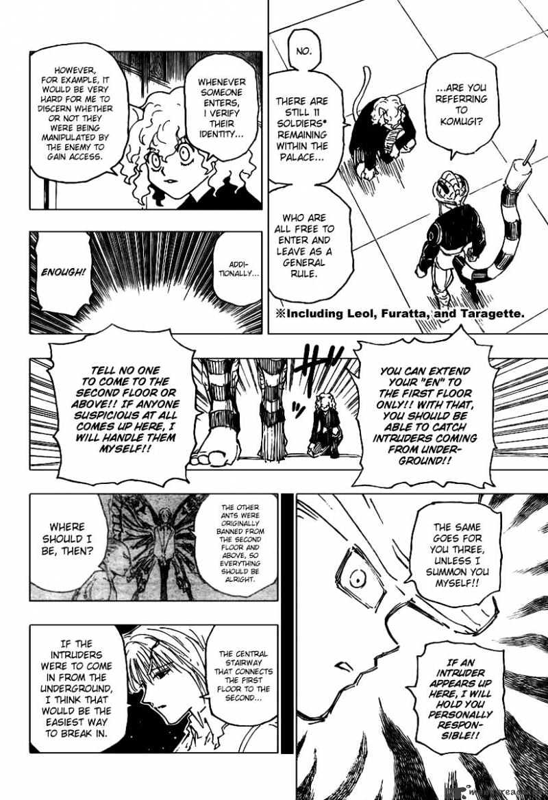 Hunter X Hunter Chapter 261  Online Free Manga Read Image 18