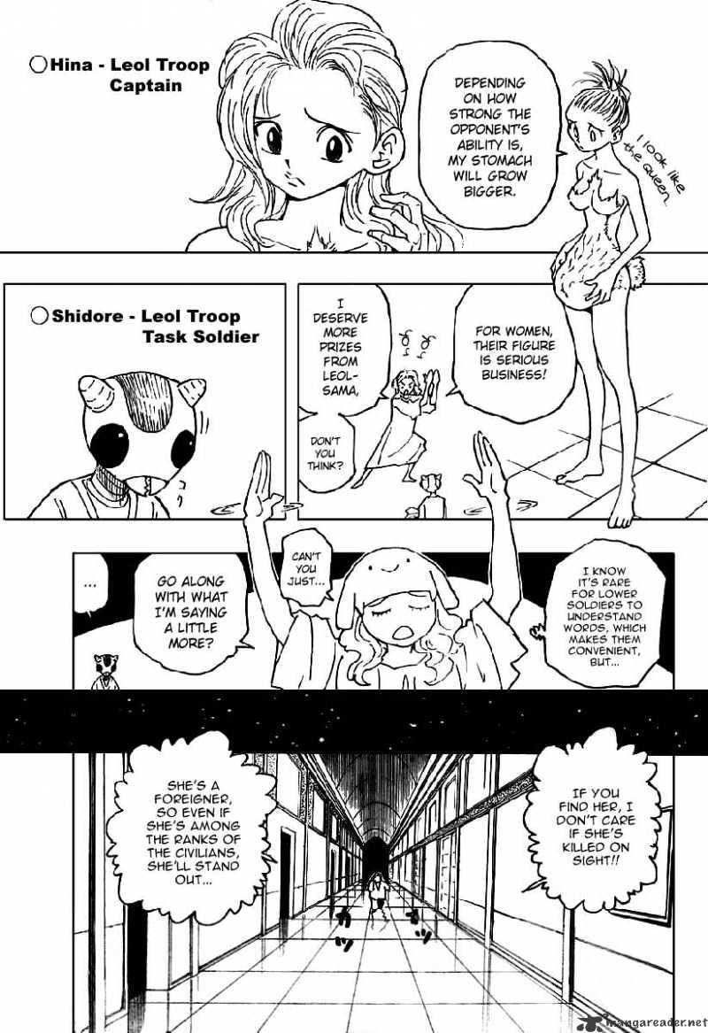 Hunter X Hunter Chapter 261  Online Free Manga Read Image 4