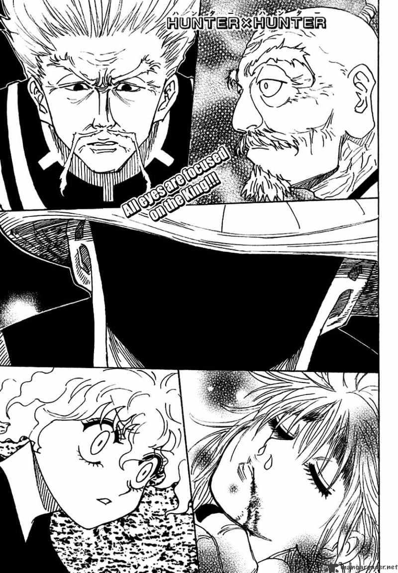 Hunter X Hunter Chapter 268  Online Free Manga Read Image 1