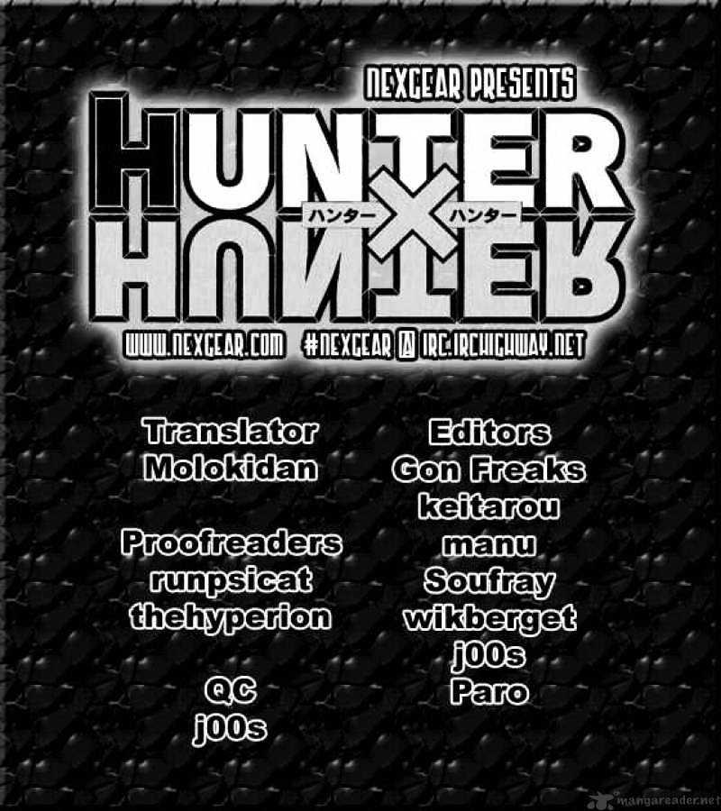 Hunter X Hunter Chapter 268  Online Free Manga Read Image 17