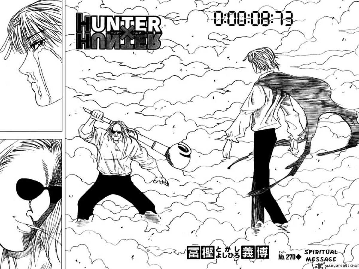 Hunter X Hunter Chapter 270  Online Free Manga Read Image 5