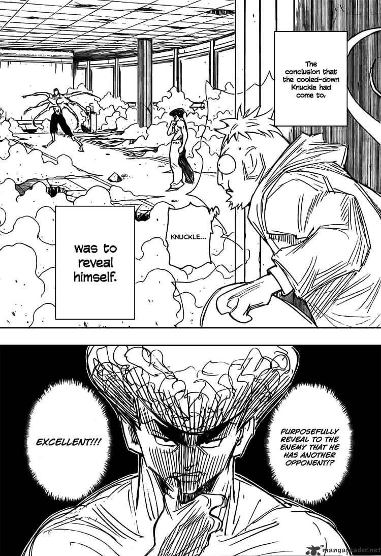 Hunter X Hunter Chapter 272  Online Free Manga Read Image 15