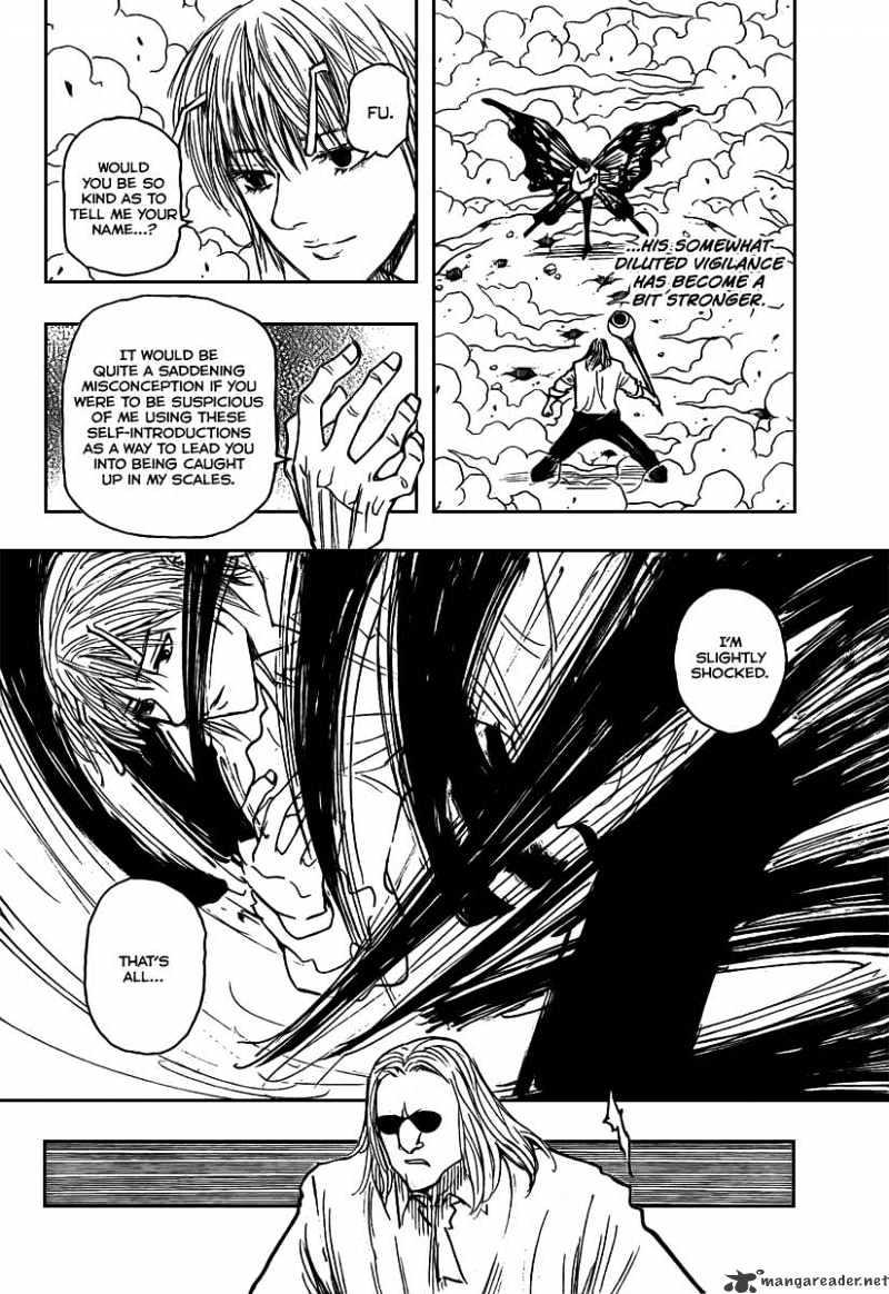 Hunter X Hunter Chapter 273  Online Free Manga Read Image 4