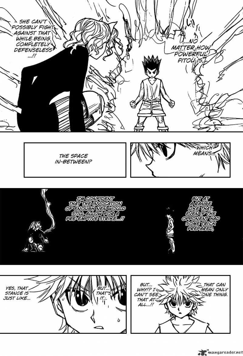 Hunter X Hunter Chapter 274  Online Free Manga Read Image 4
