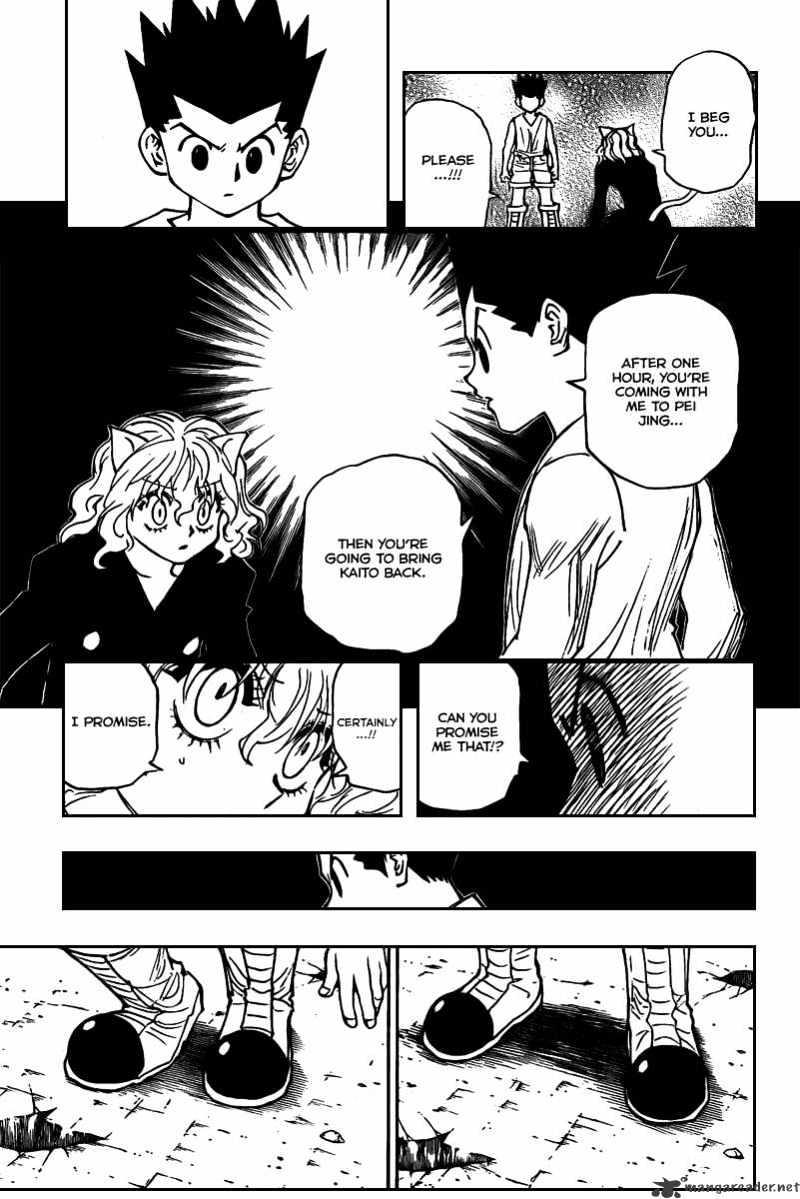 Hunter X Hunter Chapter 275  Online Free Manga Read Image 15