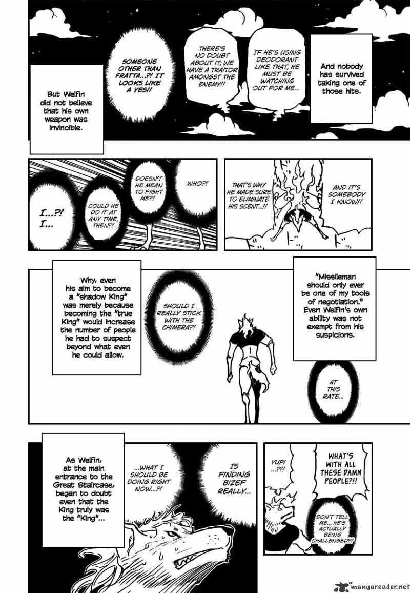 Hunter X Hunter Chapter 276  Online Free Manga Read Image 17